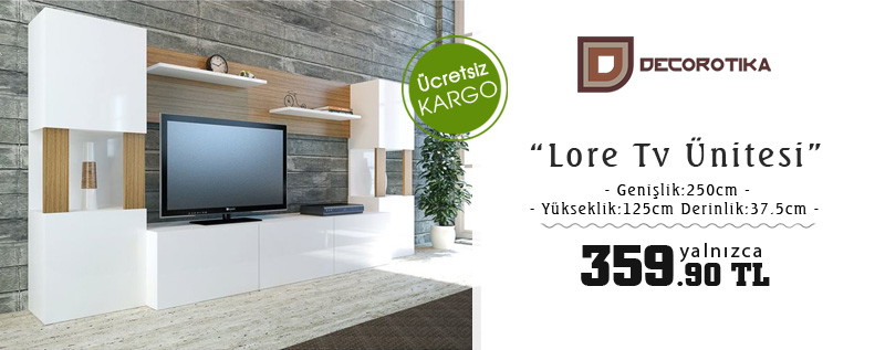 Decorotika Lore Tv Ünitesi