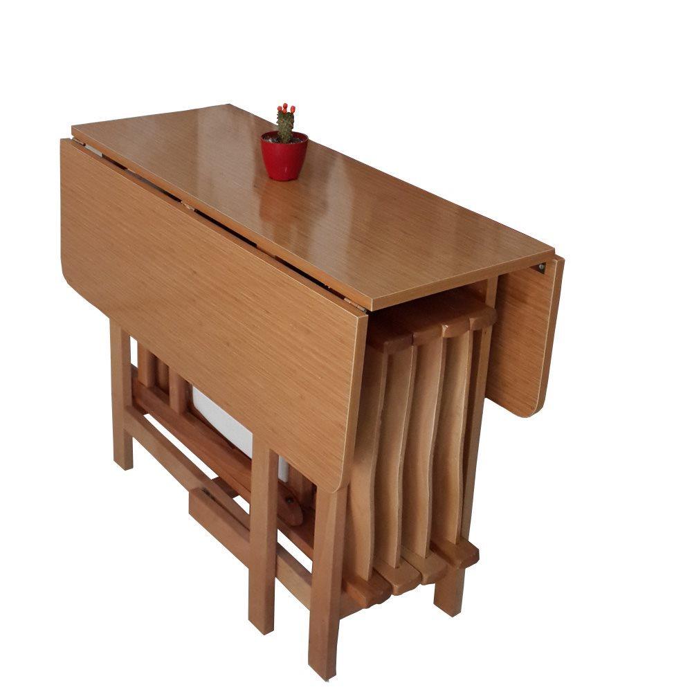 dekomambo katlanır masa sandalye takımı - kare