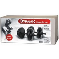 Dynamic 10 Kg Vinyl Dumbell Set