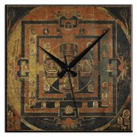 Frank Ray Mdf Wall Clock 60cm 3b167