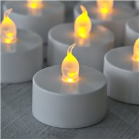 Sözen Led Tea Light Mum Sarı Titrek Işık Alevsiz Mum