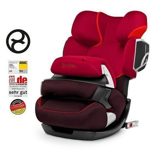 Cybex Pallas 2 Fix 9-36 Oto Koltuğu Strawberry Red