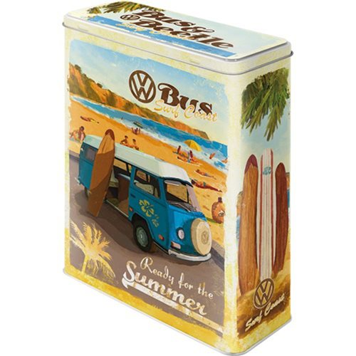 Nostalgic Art Vw Bulli, Ready For Summer Teneke Saklama Kutusu (Xl)